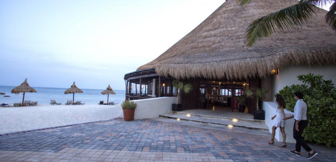 Club Med Cancun Yucatan - Terrasse extérieur