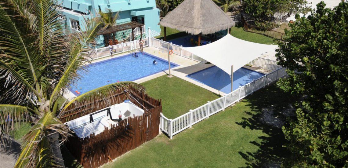 Club Med de Cancun au Yucatan - Espaces extérieurs
