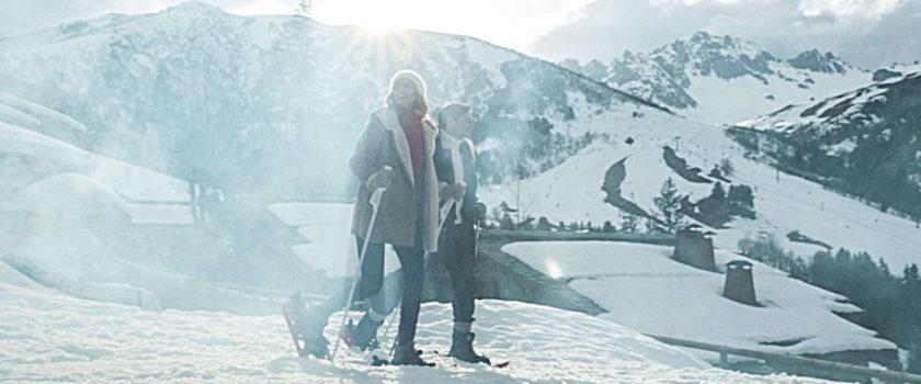 Club Med Arcs Panorama, en France - Image d'un couple faisant du ski de fond