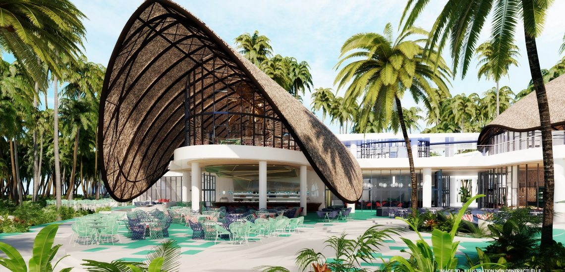 Club Med Miches Playa Esmeralda, en République Dominicaine - Image de l'hôtel et de la piscine extérieure