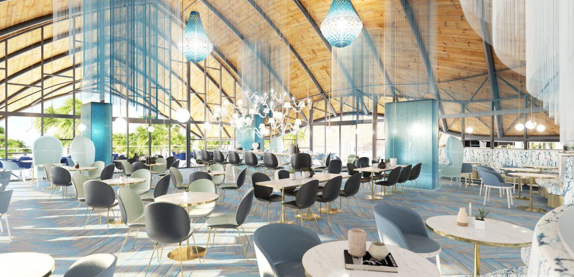 Club Med Miches Playa Esmeralda - Image du restaurant principal