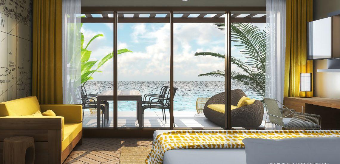 Club Med Miches Playa Esmeralda, en République Dominicaine - Image du front de mer de la suite Famille Penthouse