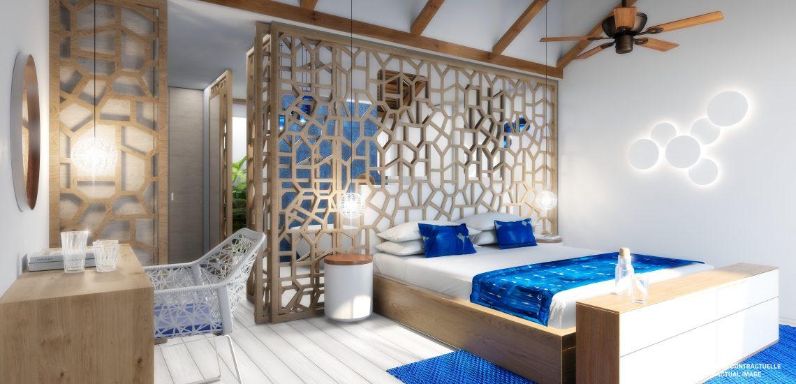 Club Med Miches Playa Esmeralda, en République Dominicaine - Image de la chambre de la suite Front de mer Archipelago Piscine Privée Lit King Size