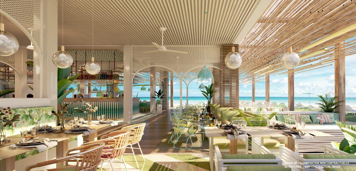 Club Med Miches Playa Esmeralda, en République Dominicaine - Image du Bar Beach Lounge