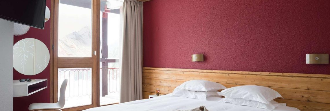 Club Med Arcs Extrême -  Hébergement vue intérieure