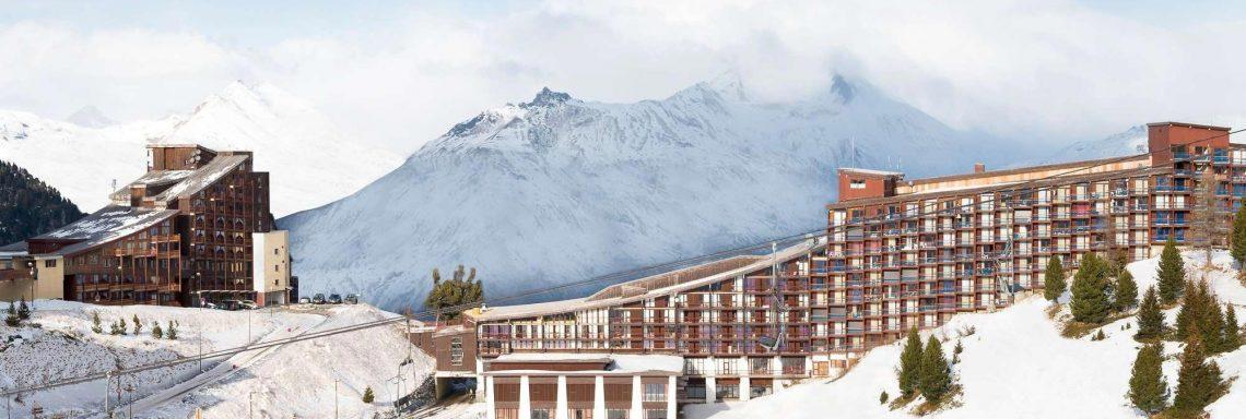 Club Med Arcs Extrême -  Complexe vue à flanc de montagne