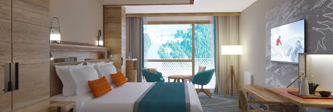 Club Med Alpes d'Huez en France - Chambre deluxe