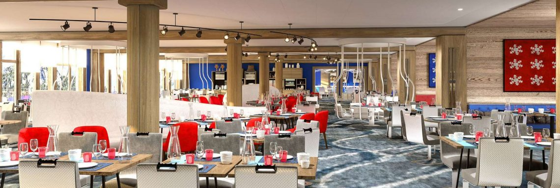 Club Med Alpes d'Huez en France - Restaurant le Névé
