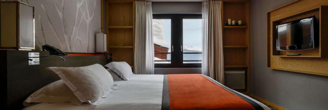 Club Med Valmorel, en France - Vue intérieure d'une chambre double