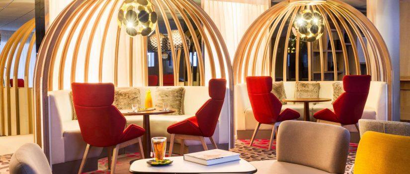 Vue intérieur du lounge du Club Med