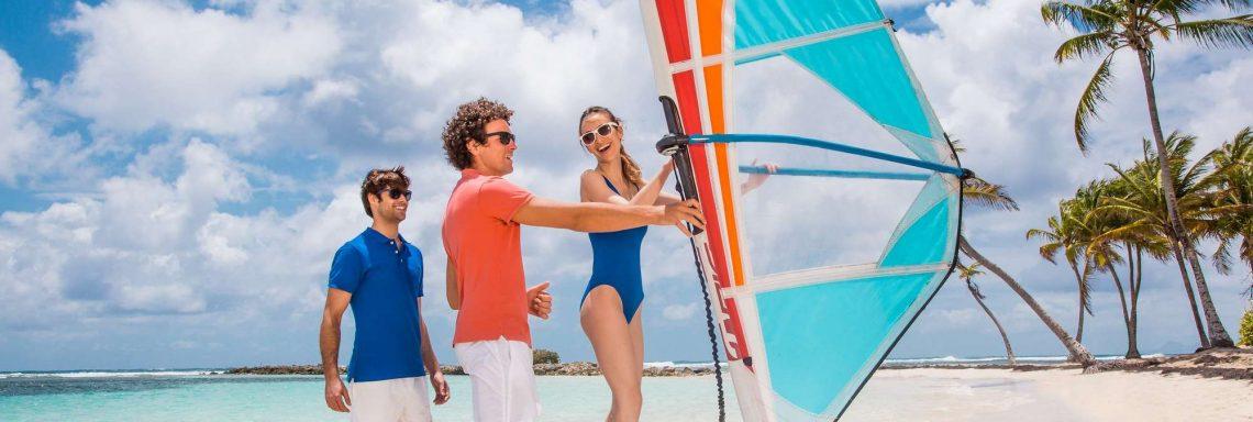 Club Med La Caravelle, Guadeloupe - École de planche à voile