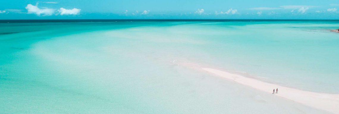 La mer cristalline des Caraïbes