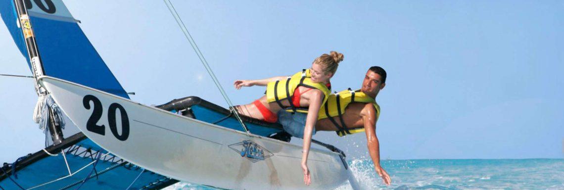 Accès à plusieurs activités nautiques