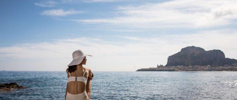 Club Med Cefalù en Italie - Mer et horizon à perte de vue.