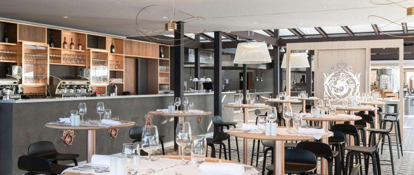 "Club Med Cefalù en Italie - Restaurant "" La Rocca "" vue intérieure"