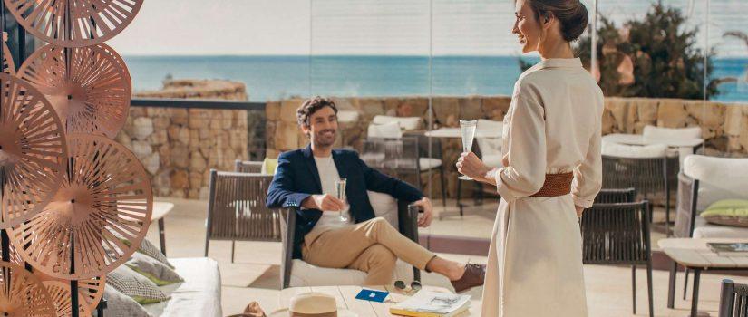 Club Med Cefalù en Italie - Terrasse avec vue sur mer