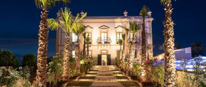 Club Med Cefalù en Italie - éclairer en soirée