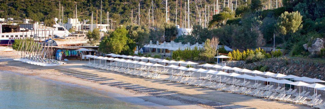 Club Med Turquie Bodrum - Vue aérienne du complexe
