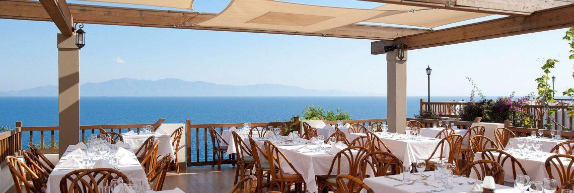 Club Med Turquie Bodrum - Terasse avec vue sur mer
