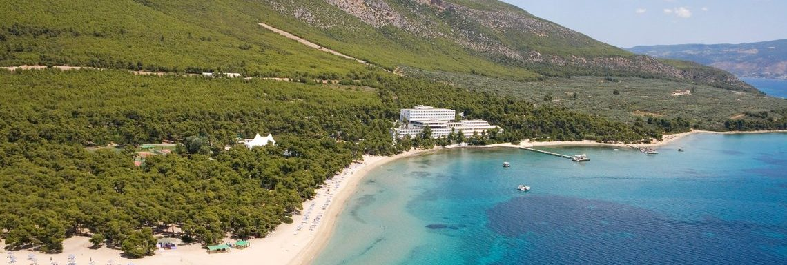 Club Med Gregolimano Grèce - Vue aérienne