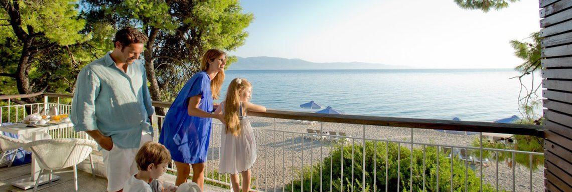 Club Med Gregolimano Grèce - Terrasses et plage