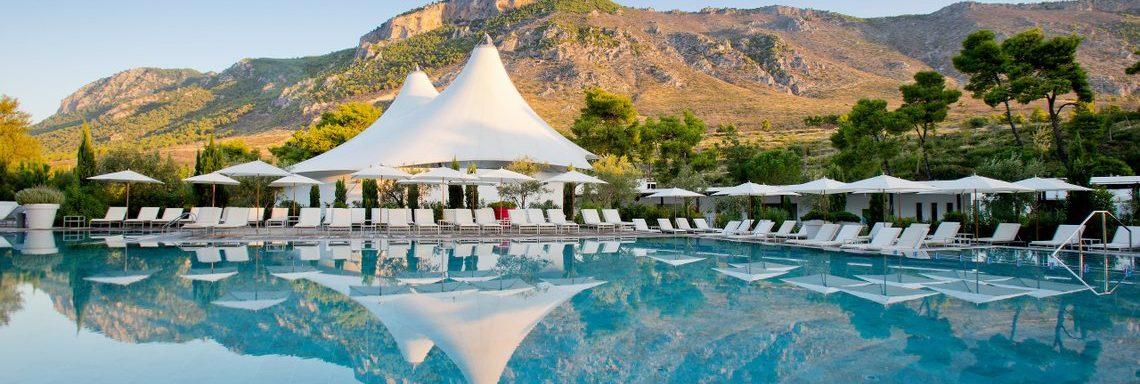 Club Med Gregolimano Grèce - Piscine extérieure