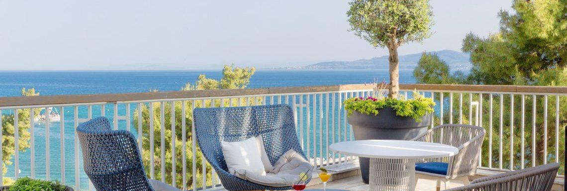 Club Med Gregolimano Grèce - Terrasses privées