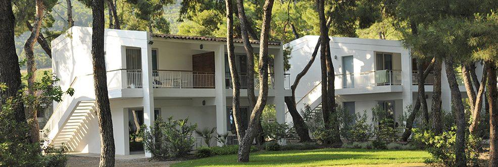 Club Med Gregolimano Grèce - Hébergement en simple, double ou famille