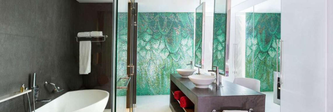 Club Med Punta Cana, en République Dominicaine - Vue de la salle de bain disponible dans les chambres Deluxe