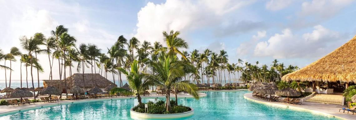Club Med Punta Cana, en République Dominicaine - Photo d'une des nombreuses piscines du complexe