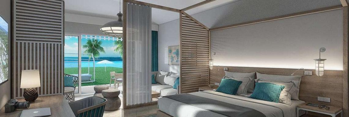 Club Med Punta Cana, en République Dominicaine - Vue de l'intérieure d'une suite disponible dans l'espace exclusif