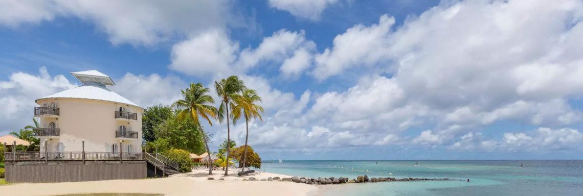 Image de la plage du Club Med Les Boucaniers en Martinique