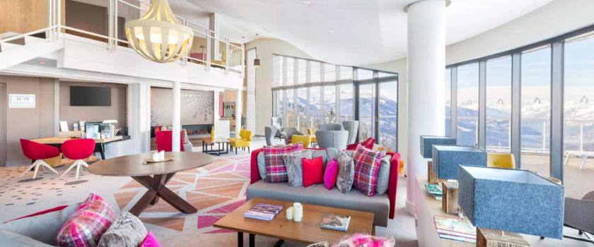 Club Med Arcs Panorama, en France - Image d'un des espaces réservés aux résidents de la Collection Exclusive