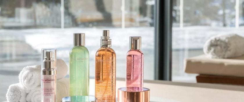 Club Med Arcs Panorama, en France - Image des produits de beauté offerts par le spa CINQ MONDES