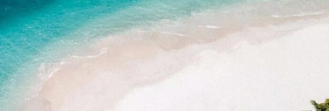 Club Med Miches Playa Esmeralda, en République Dominicaine - Vue aérienne de la plage et la mer autour du complexe