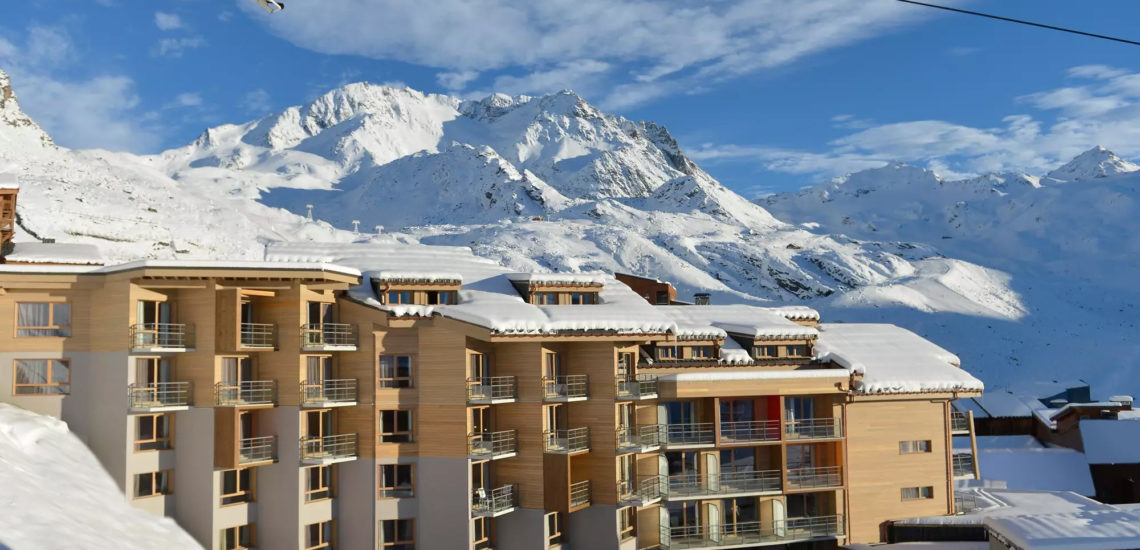 Club Med Val Thorens Sensations, France - Image aérienne du complexe dans son entièreté