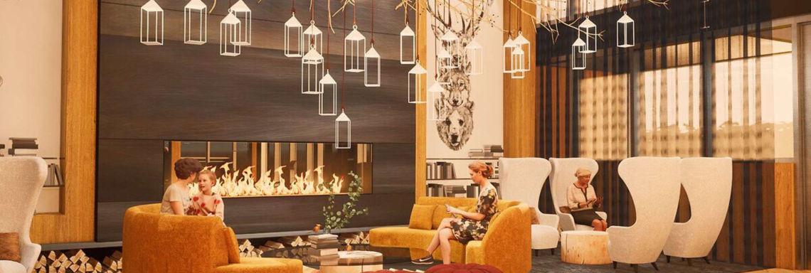 Lounge et salons luxueux