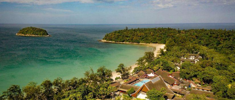 Club Med Phuket Thaïlande - Vue aérienne