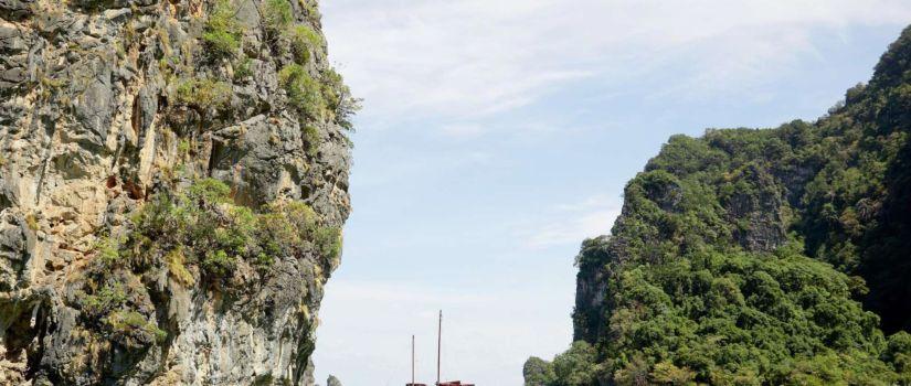 Club Med Phuket Thaïlande - Bâteau