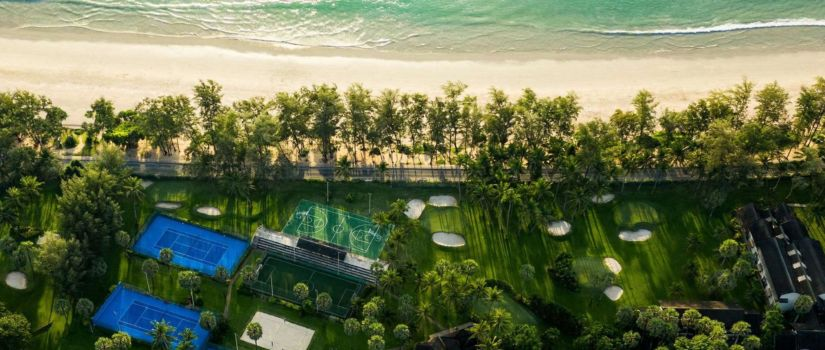 Club Med Phuket Thaïlande - Installation sportives