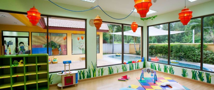 Club Med Phuket Thaïlande - Garderie enfant